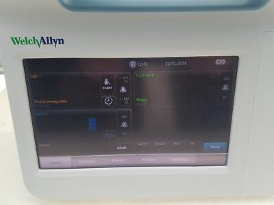 Welch Allyn Connex 6000 series 64NXXX Touch Screen Vital Sign Monitor only