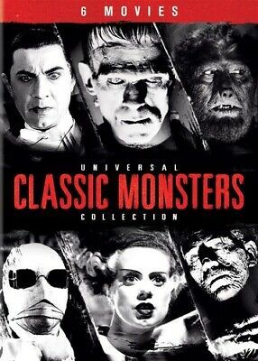 Universal Classic Monsters Collection (DVD Used Very Good)