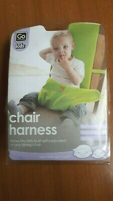 Go Travel Kids Chair Harness Orange