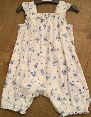 Mothercare Peter Rabbit Baby Girls Romper/short All In One 6-9 Months 🐰