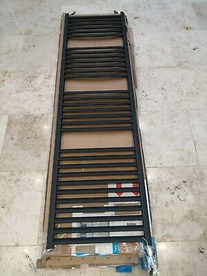 Eastbrook Velor 86.0168 1800x500 aluminium towel rail anthracite electric