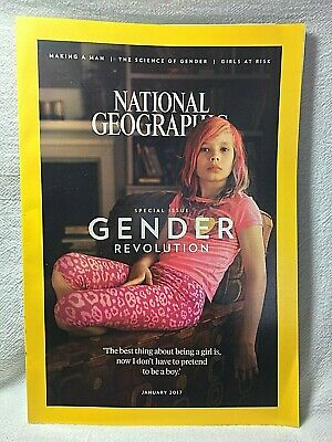 National Geographic Magazine Vol. 231 No. 1 (January 2017) Gender Revolution