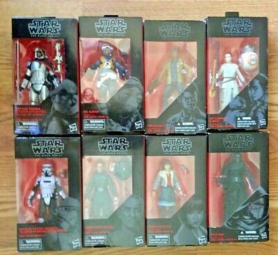 New Star Wars Black Series 6 Inch Episode Vii Force Awakens Pick Figure