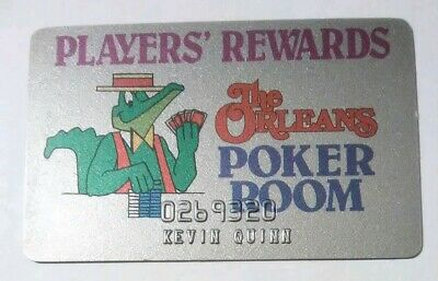 The Orleans Casino Las Vegas, Nevada Poker Room Card Great For Any Collection!