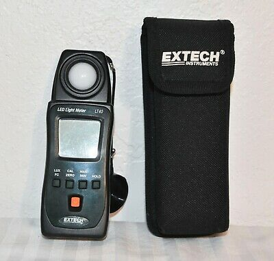 Extech LT40 LED Light Meter with Case