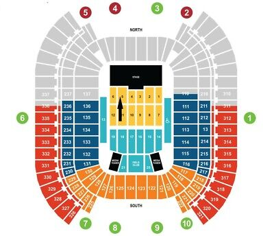 2020 Cma Music Festival.2 Tickets Field 5 Row 16 2020 Cma Music Festival 1 900 00