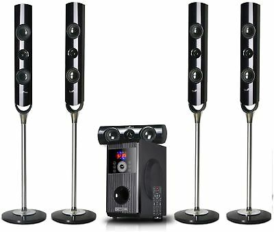 Bluetooth Surround Sound System Home Theater Speaker Set 5.1 Channel BeFree