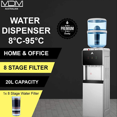 Water Cooler Dispenser Stand hot cold Ambient Taps Filter Purifier 20L Bottle