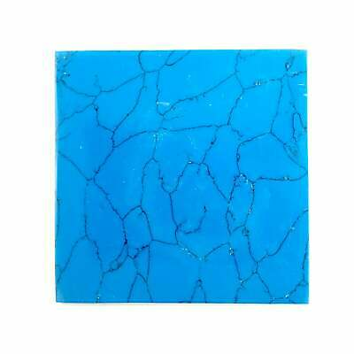"""Incudo Turquoise (H) Reconstituted Stone Inlay Blank - 50x50x1.5mm (2x2x0.06"""")"""