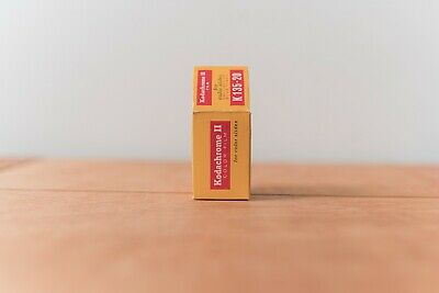 Vintage Kodachrome II Color Slide Film 135-20, EXPIRED May 1970 *EXPOSED*
