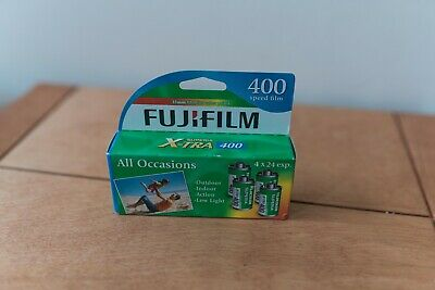 Fujifilm Superia X-TRA 400 35mm Film (4 Pack) *Very Recently Expired*