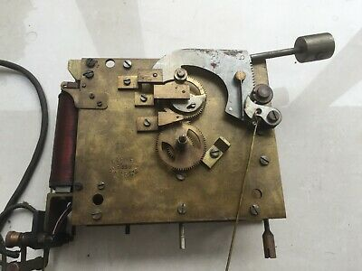 Gledhill Brook Clocking In Machine Clock Time Recorder Empire Movement Electric