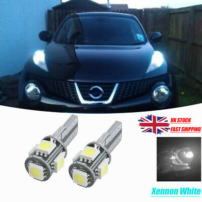 Fits Nissan Juke F15 8SMD LED Error Free Canbus Side Light Beam Bulbs