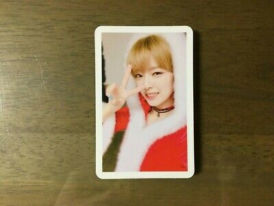 Twice Jeoungyeon 3rd Mini Album Twicecoaster LANE1 Christmas Officia Photo Card