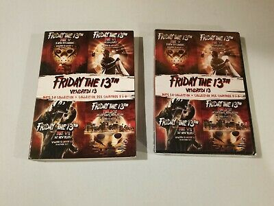 Friday the 13th: Deluxe Edition Four Pack - Parts V-VIII (DVD, 2018)