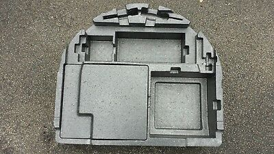 Alfa 147 Spare Wheel Well Polystyrene Insert With Lid