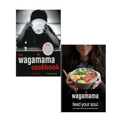 wagamama Feed Your Soul,Wagamama Cookbook 2 Books Collections Set Food & Drink