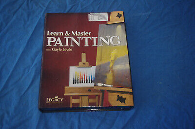 Learn & Master Painting Gayle Levee 20 Dvds 3 Cds Book!!