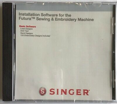 Singer Futura XL400 Basic Software -BRAND NEW