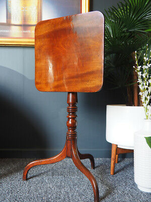 Antique Regency English Tilt-Top Mahogany Wine Table UK DELIVERY AVAILABLE