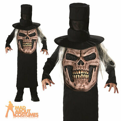 Boys Clothing Shoes Accessories Kids Mad Hatter Scary Horror Halloween Fancy Dress Costumes Age 7 12 Years Myself Co Ls