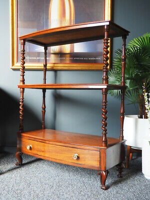 Antique Regency Rosewood Three Tier Whatnot Display Stand UK DELIVERY AVAILABLE