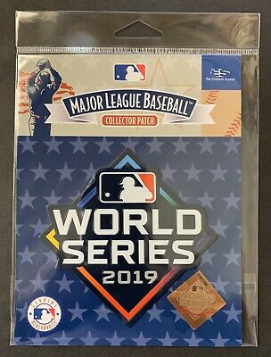 2019 World Series MLB Official Licensed Patch NATIONALS vs ASTROS