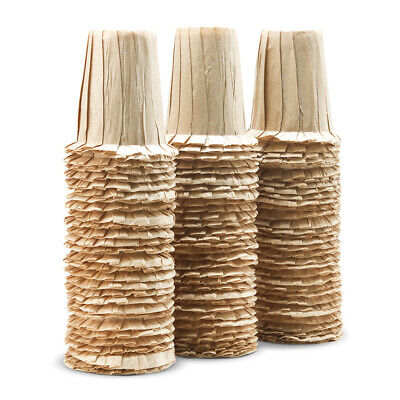 Unbleached Coffee Hand Drip Filter Paper Cones Brewer  Strainer 100pcs