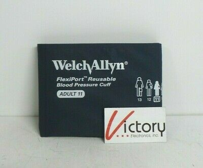 Welch Allyn FlexiPort Reusable Adult Blood Pressure Cuff | 1-Tube Connection