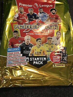 Panini Premier League 2019/20 Adrenalyn XL STARTER PACK