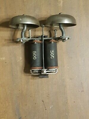 Western Electric 500 Wall Telephone Brass Ringer Bells-Subset