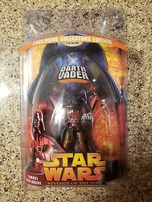 Hasbro Star Wars Revenge of the Sith Target Exclusive Lava Darth Vader NEW