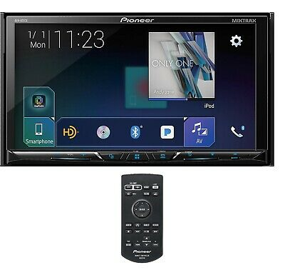"New Pioneer Double 2 Din AVH-601EX DVD/CD Player 7"" Bluetooth SiriusXM AUX USB"