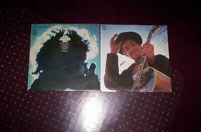 BOB DYLAN GREATEST HITS & NASHVILLE SKYLINE, 2 ORIGINAL LPs