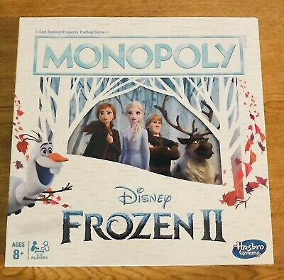 NEW Disney Frozen 2 Monopoly Board Game By Hasbro 2019 Sealed