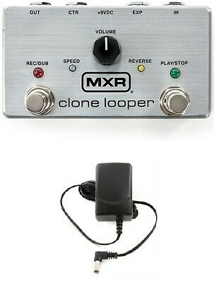 Mxr M303 Clone Looper Guitar Effects Pedal 3 Minutes Recording Time Free Adapter
