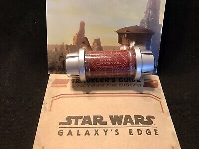 Disney Star Wars Galaxy's Edge Kyber Crystal RED Lightsaber Holocron SEALED