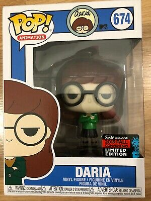 IN HAND Funko Pop Daria NYCC SHARED Exclusive sticker figure
