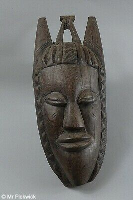 New Guinea Mask Hand Carved