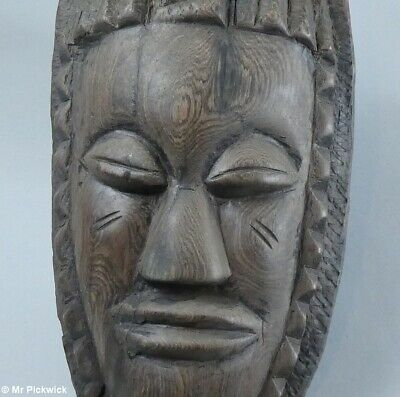 New Guinea Mask Carved