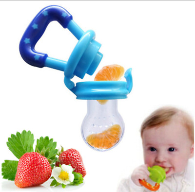 Baby Feeding Pacifier Food Fruits Feeder Dummy Soother Weaning Nipple Supplement