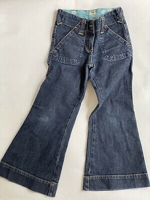NEXT Girls retro Bootcut Flare Jeans Trousers 6-7yrs 118cm