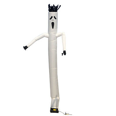 20ft Halloween Inflatable Advertising Air Wind Tube Puppet Sky Wavy Man Dancer