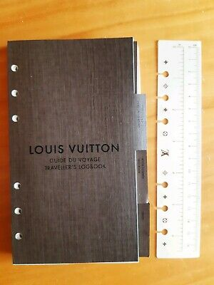 Louis Vuitton Set Agenda MM ricarica refill righello rubrica note sticker borsa