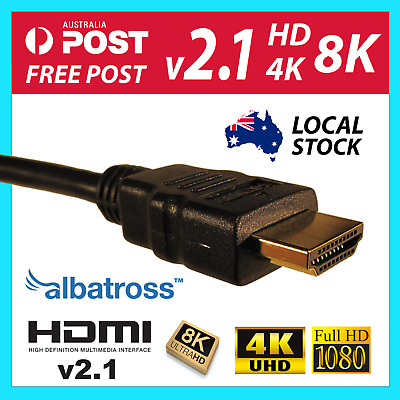 Albatross HDMI Cable 1m,1.5m,2m,3m,4m,5m v2.0b v2.1 High Speed with Ethernet