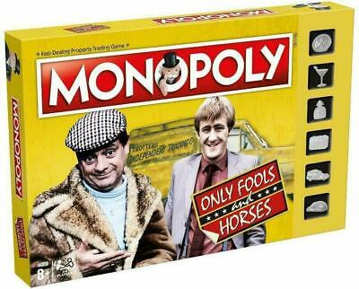 Only Fools and Horses Monopoly Game with Silver Pieces Board Game Xmas Gift