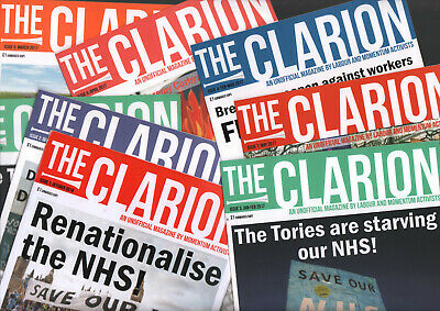 CLARION- Momentum and Labour activist mag 7 issues