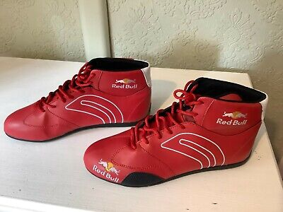 Redbull Motorsport Race Karting Boots, UK Size 11 in Red