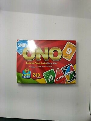 Uno Card Game 108 Playing Cards Indoor Family Children Friends Party Gift Uk New