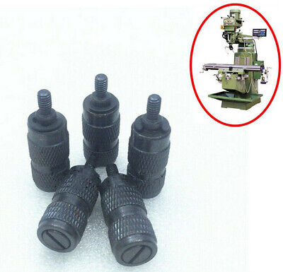 5pcs Milling Machine Part Feed Reverse Knob Assembly For Bridgeport Mill